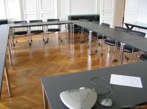 Tables de réunion modulaires Tablesystem