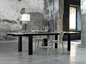Table de réunion verre Stilt