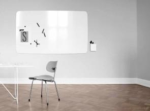 Tableau magnétique verre blanc Mood Flow Lintex