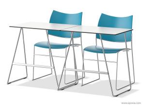 Table de séminaire crochetable et empilable Class