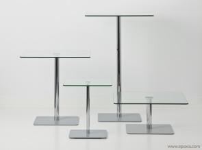 Collection de tables en verre Flow