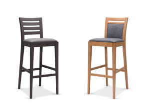 Tabourets de bar haut, collection Cristiana