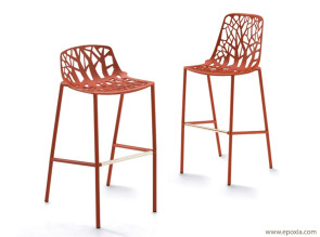 Tabourets de bar Corail Forest