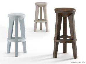 Tabourets de bar FROZEN outdoor