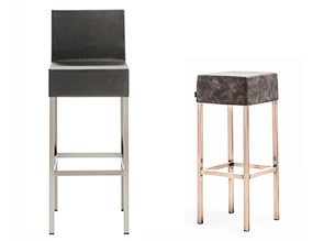Collection de tabourets de bar Cube