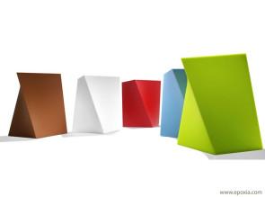 Tabourets design Kubik