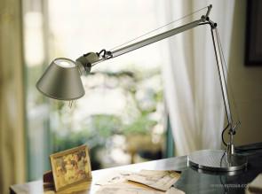 Lampe de bureau Tolomeo aluminium