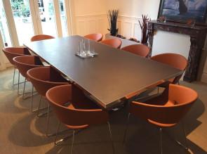 Réalisation table de réunion Archimede 10 places