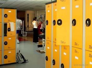 Vestiaires multicasiers coloris jaune